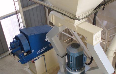 Vertical Hammermills